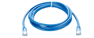 NCB-5EUBLUR1-2 D-Link Cat5E UTP 24 AWG Round Patch Cord - 2M Blue Color
