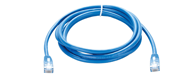 NCB-5EUBLUR1-3 D-Link Cat5E UTP 24 AWG Round Patch Cord - 3M Blue Color