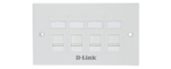 NFP-0WHI41 D-Link Quad Ports Faceplate
