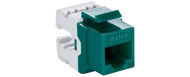 NKJ-5EGRN1B21 D-Link Cat5E UTP Keystone Jack - Green Color