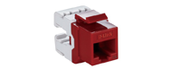 NKJ-5ERED1B21 D-Link Cat5E UTP Keystone Jack - Red Color