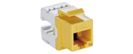 NKJ-5EYEL1B21 - D-Link Cat5E UTP Keystone Jack - Yellow Color
