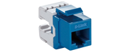 NKJ-C6BLU1B21 D-Link Cat6 UTP Keystone Jack - Blue Color